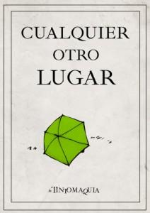 """Portada de la novela """"Cualquier otro lugar"""""""