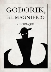 """Portada de la novela """"Godorik, el magnífico"""""""