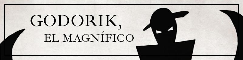 Banner para la novela por entregas Godorik, el magnífico.