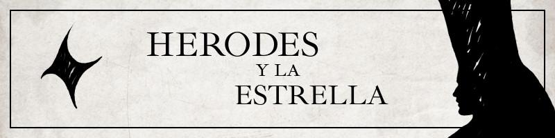 Banner para la obra de teatro Herodes y la Estrella.