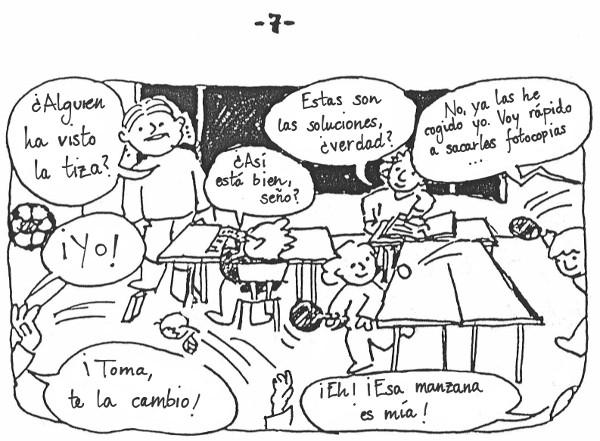 Apuntes de una profesora en prácticas - 7