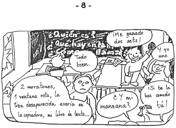 Apuntes de una profesora en prácticas - 8