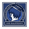 One Halfpenny - Blue