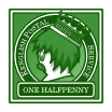 One Halfpenny - Green