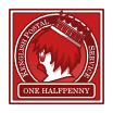 One Halfpenny - Red